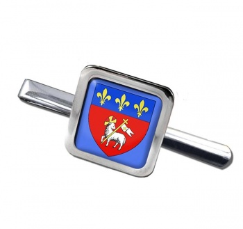 Rouen (France) Square Tie Clip