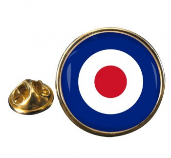 Royal Air Force Roundel Round Pin Badge