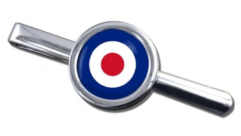 Royal Air Force Roundel Round Tie Clip