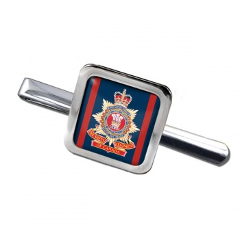 Royal Regiment of Canada (Canadian Army) Square Tie Clip