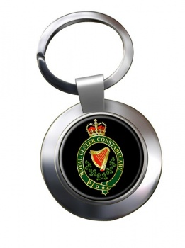 Royal Ulster Constabulary RUC Chrome Key Ring