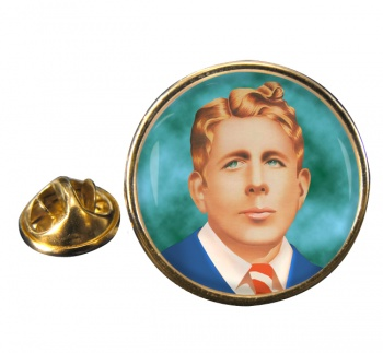 Rudy Vallee Round Pin Badge