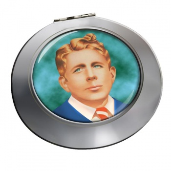 Rudy Vallee Chrome Mirror