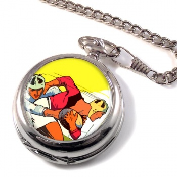 Rugby Pocket Watch