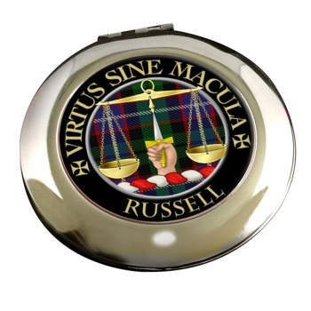 Russell Scottish Clan Chrome Mirror