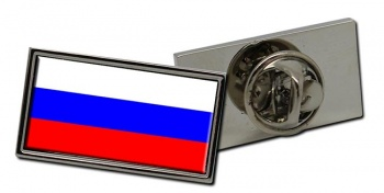 Russia Flag Pin Badge