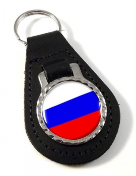 Russia Leather Key Fob