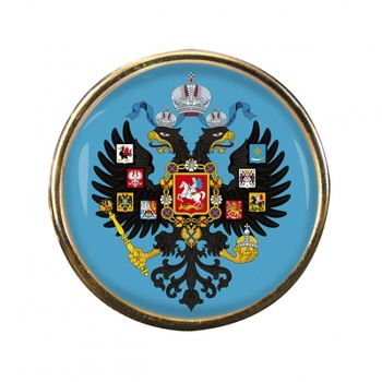 Russian Empire Round Pin Badge