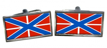 Russian Navy Rectangle Cufflinks