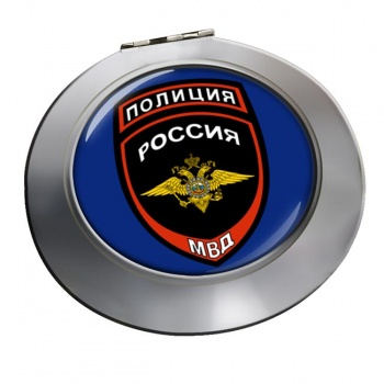 Russian Police � Chrome Mirror
