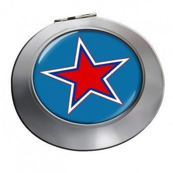 Russian Roundel Chrome Mirror