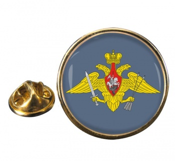 Strategic Missile Troops (Russian Army) Round Pin Badge