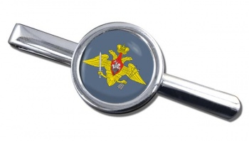 Strategic Missile Troops (Russian Army) Round Tie Clip