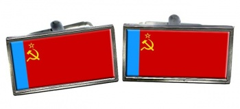 Russian Soviet Flag Cufflinks