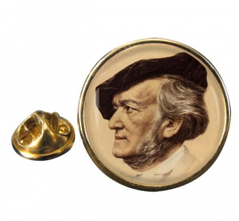 Wagner Round Pin Badge