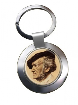 Wagner Chrome Key Ring