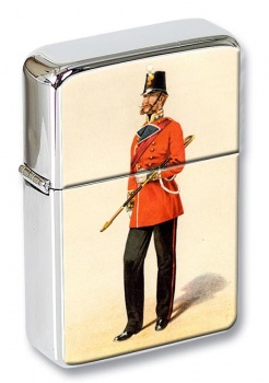 Royal Welsh Fusiliers 1856 Flip Top Lighter