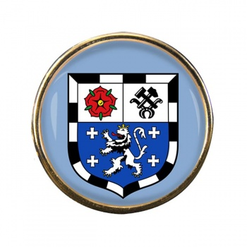 Saarbrucken (Germany) Round Pin Badge