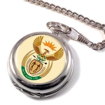 South African Crest Pocket Watch