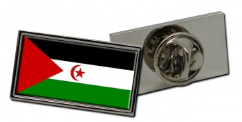 Sahrawi Flag Pin Badge