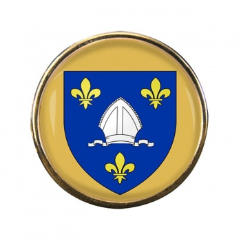 Saintonge (France) Round Pin Badge