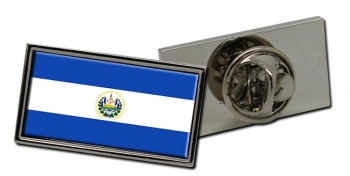 El Salvador Flag Pin Badge
