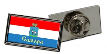 Samara Flag Pin Badge