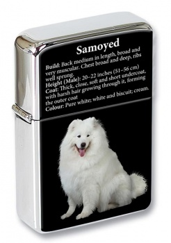 Samoyed Flip Top Lighter