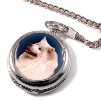 Samoyed Pocket Watch