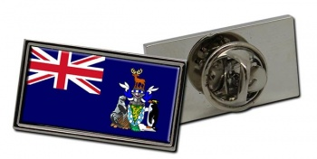 South Georgia and the South Sandwich Islands Flag Pin Badge