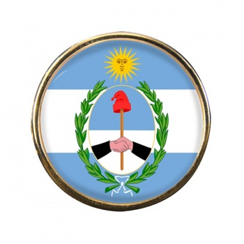 Argentine San Juan Province Round Pin Badge
