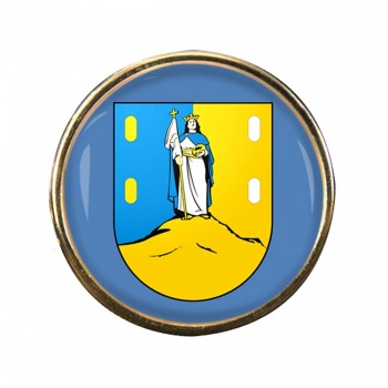 San Luis (Mexico) Round Pin Badge