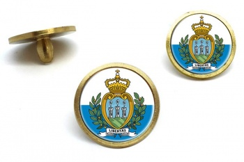 San Marino Golf Ball Marker