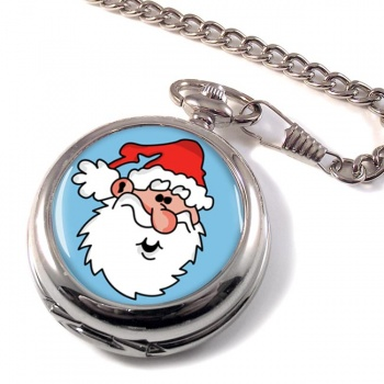 Father Christmas Santa Clause Pocket Watch