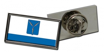 Saratov Flag Pin Badge