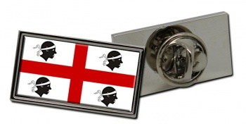 Sardinia Sardegna (Italy) Flag Pin Badge