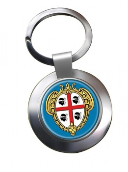 Sardinia Sardegna (Italy) Metal Key Ring