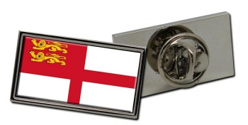Sark Flag Pin Badge
