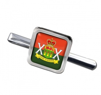 Saskatchewan Dragoons (Canadian Army)  Square Tie Clip