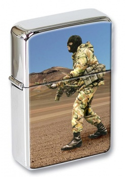 SAS soldier Flip Top Lighter