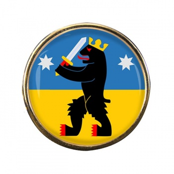Satakunta Round Pin Badge