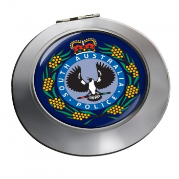 South Australia Police Chrome Mirror