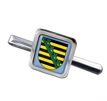 Sachsen Saxony (Germany) Square Tie Clip