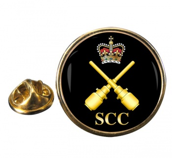 SCC Drill instructor Round Pin Badge
