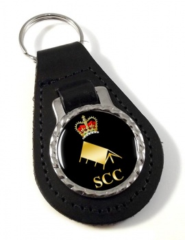 SCC Expedition Leather Key Fob