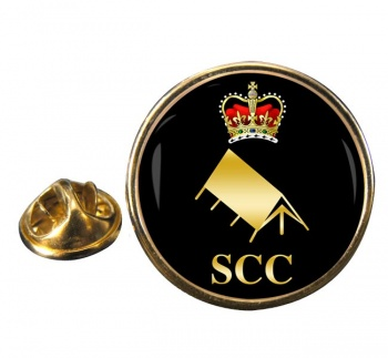 SCC Expedition Round Pin Badge