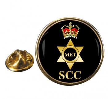 SCC Meteorology Round Pin Badge