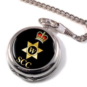 SCC Writer Pocket Watch