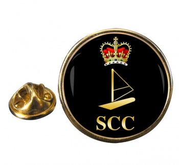 SCC Windsurfing Round Pin Badge