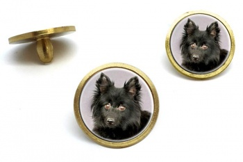 Schipperke  Golf Ball Marker Set